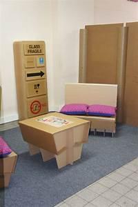 Meuble En Carton Design : meuble en carton d montable papelao design ~ Melissatoandfro.com Idées de Décoration