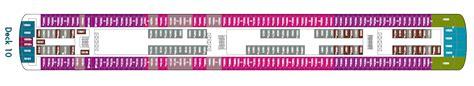 Ncl Jade Deck Plan 10 by Aktueller Deckplan Der
