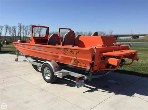 Sjx Jet Boat For Sale by 2015 Used Sjx 2170 Aluminum Fishing Boat For Sale