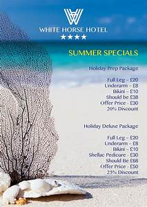 Summer Special Waxing at The White Horse Beauty Rooms