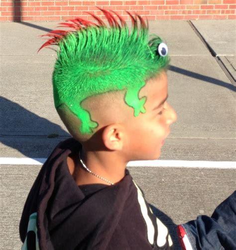 Lizard For Crazy Hair Day Crazy Hair Wacky Hair Days