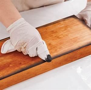 comment fabriquer un meuble lavabo en bois bricobistro With teindre un meuble en pin