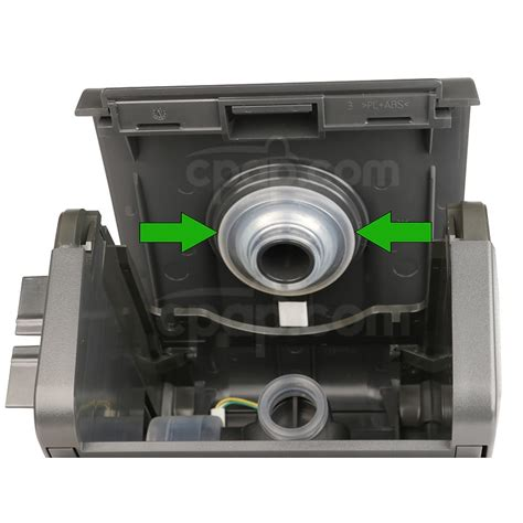 cpap com humidifier elbow seal for pr system one 60 and 50 series machines
