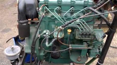 volvo penta   marine diesel engine test youtube