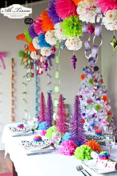 rainbow christmas tree decoration ideas christmas