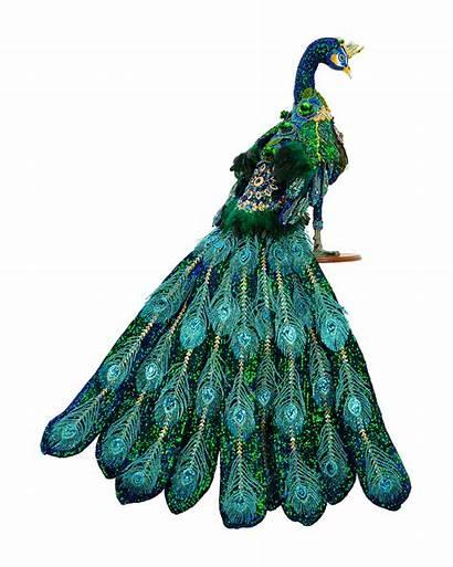 Roberts Mark Peacock Jeweled Collectible Figurine Mz