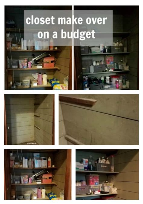 inexpensive closet makeover on a budget just me