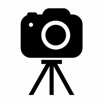 Camera Clipart Photoshoot Tripod Transparent Icon Webstockreview