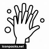 Hands Washing Icon Symbol Svg Format sketch template