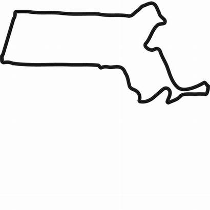Massachusetts Outline Stamp Rubber State States Stamps