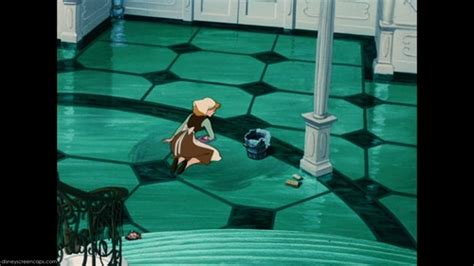 Cinderella Is The Only One Who Cleaned Floor Or Stair