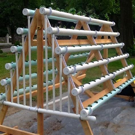 Vertical Vegetable Gardening Systems by How To Grow 168 Plants In A 6 X 10 Space With A Diy A