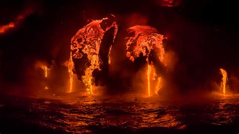 Night Lava Boat Tours Big Island by How To Photograph Lava Big Island Of Hawaii Astralis