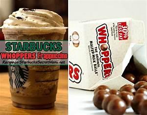 Whoppers Frappuccino | Starbucks Secret Menu | Starbucks ...