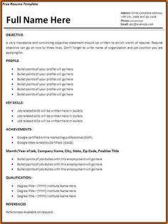 Make A Simple Resume by Sle College Resume With No Work Experience When You