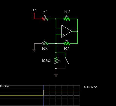 Howland Current Source Circuit Simulator