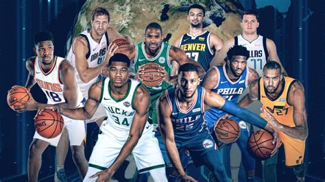 nba rosters feature  international players