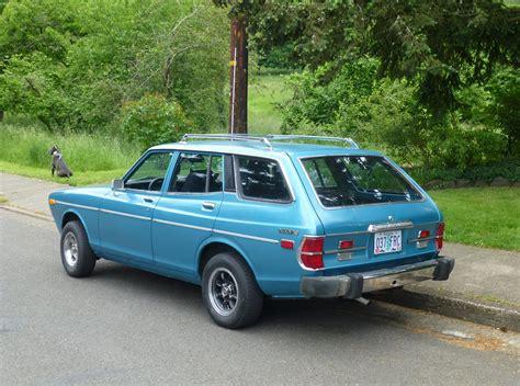 Datsun 710 Wagon by Cc Capsule A Datsun 710 Wagon In The