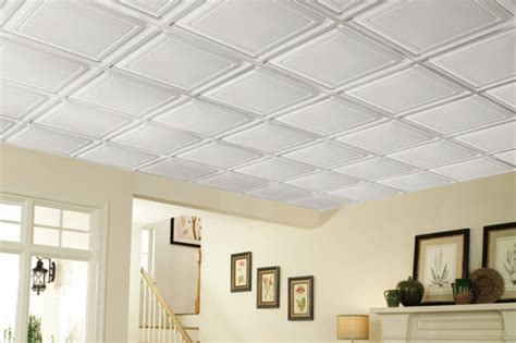sheetrock vs ceiling tiles basement ceiling options for low ceilings