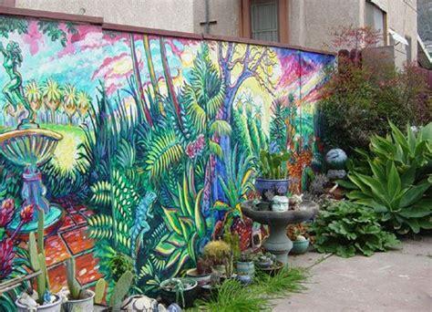 mural   fence good fencesgood neighbors