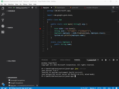 Run And Debug Java 9 In Visual Studio Code  The Visual. Example Resume Sales. Warehouse Packer Resume. The Most Professional Resume Format. System Support Resume. Format For References On A Resume. First Job Resume Samples. Online Resume Design. Example Retail Resume