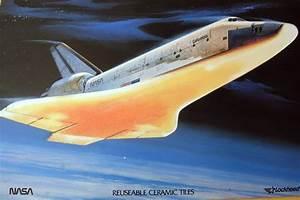 Columbia Space Shuttle Explosion - ORBITER HEAT TILES