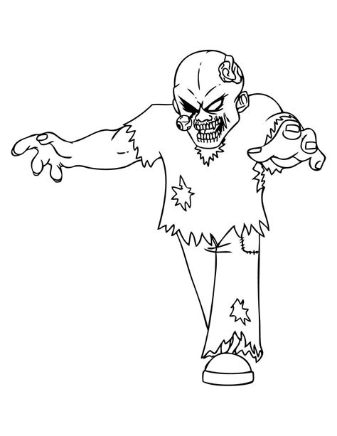 Zombies to download Zombies Kids Coloring Pages