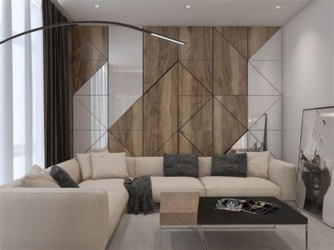 apartament  modern style  behance komnata dizayna