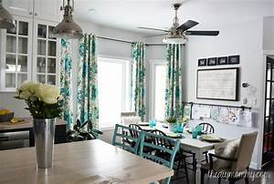 A black white and turquoise diy kitchen design with ikea for Kitchen colors with white cabinets with mermaid outdoor wall art