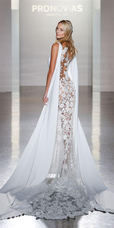 pronovias runway show   york bridal fashion week