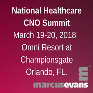 national healthcare cno summit  healthmanagementorg