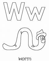 Coloring Worm Pages Animal Whale Print Popular sketch template