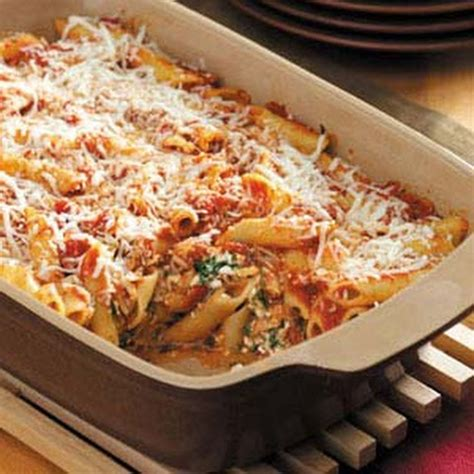 baked mostaccioli with sauce 10 best baked mostaccioli no meat recipes yummly