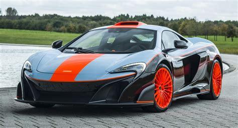 McLaren 675LT MSO Treated To F1 GTR's Gulf Racing Livery
