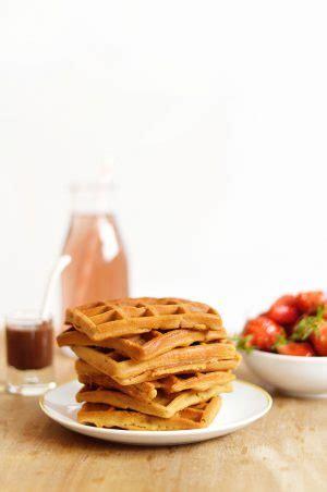 gaufres vegan et sans gluten recette facile et rapide