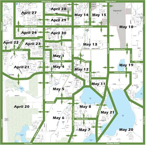 portage spring cleanup program starts monday april