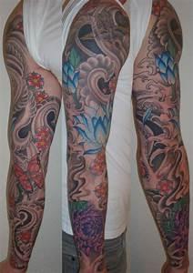 Tatouage Japonais Bras : tatouage japonais bras complet homme de36y8 tattoo ~ Melissatoandfro.com Idées de Décoration