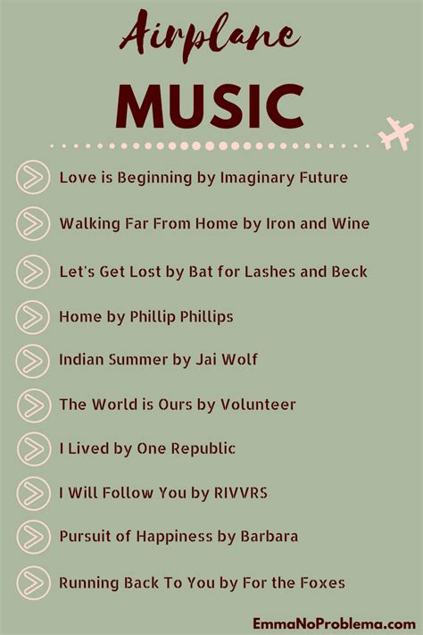 The best travel songs playlist. Music for travel, airplane playlist | Travel songs, Music ...