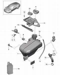 Porsche 991 Water Tank Reservoir Cap 99110645701