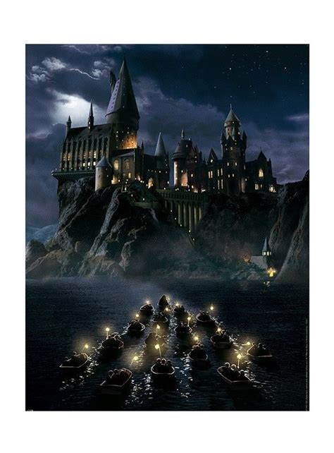 poster de alta calidad de hogwarts original de harry potter