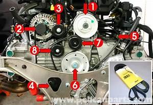 Porsche 911 Carrera Belt Replacement