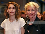 British singer Coco Sumner and her mother Trudie Styler ...
