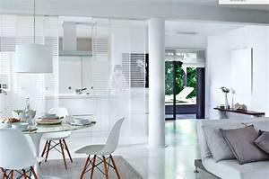 separation cuisine salon vitree maison design bahbecom With separation vitree cuisine salon