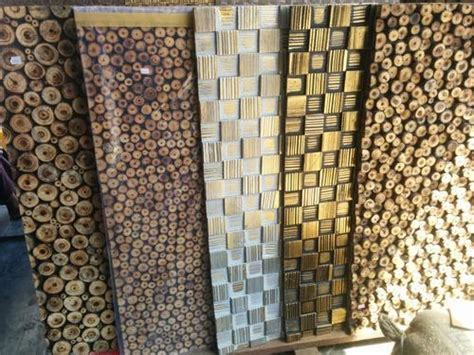 Wood Log Wall Panel at Rs 180 /piece   Wooden Wall Panel