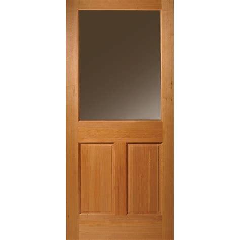 half light door masonite 32 in x 80 in half lite 2 panel unfinished fir
