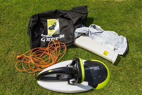 garden groom pro safety hedge trimmer and collection bag in inverurie aberdeenshire gumtree