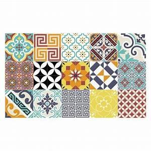 Tapis Vinyl Salon : tapis carreaux de ciment le top 5 s lection shopping salons and hall ~ Teatrodelosmanantiales.com Idées de Décoration