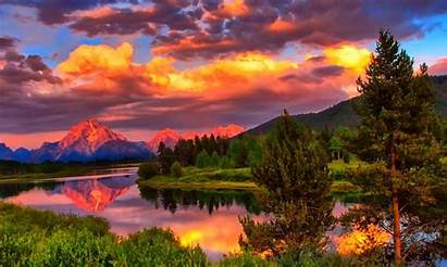 Landscape Cool Wallpapers Panoramic Mountain Amazing Backgrounds