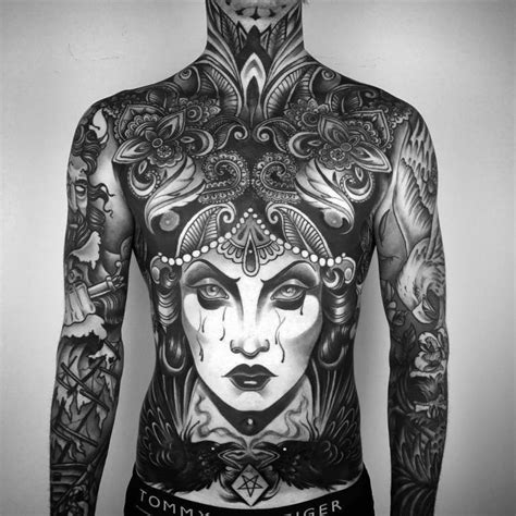 percect full body tattoo ideas  body   canvas