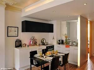 petite cuisine design ouver decor inspirations for my With cuisine dans petit espace